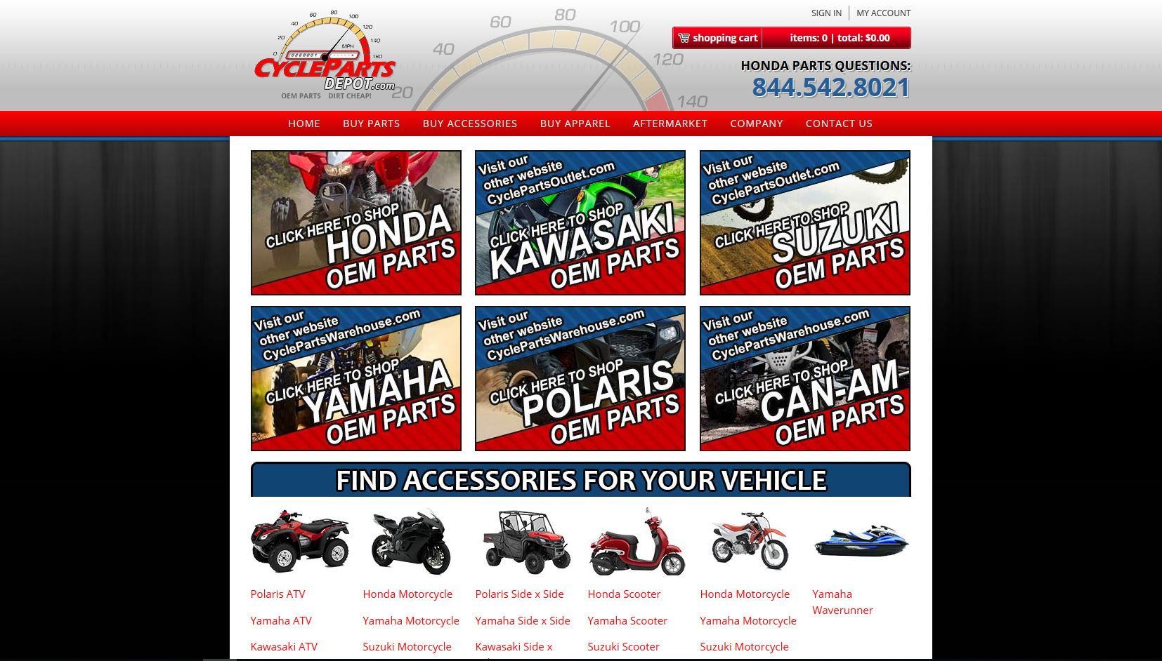cyclepartsdepot.com